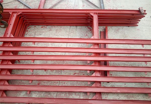 单立柱钢结构的工厂制作步骤